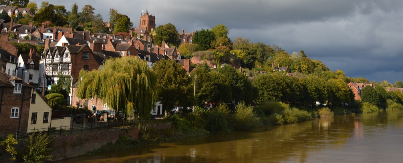 Bridgnorth and the River Severn