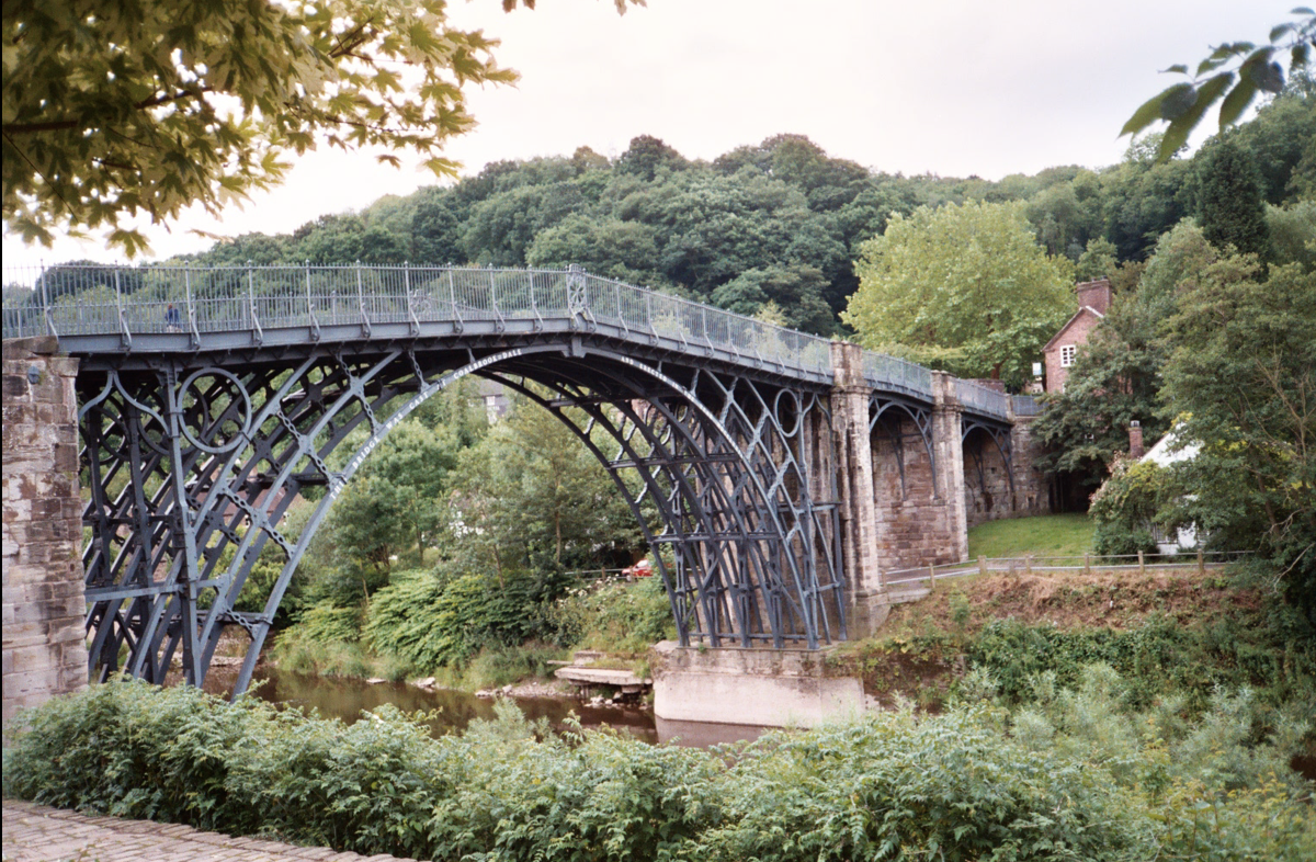The Iron Bridge at Ironbridge Gorge
