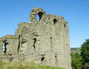 Clun Castle Keep
