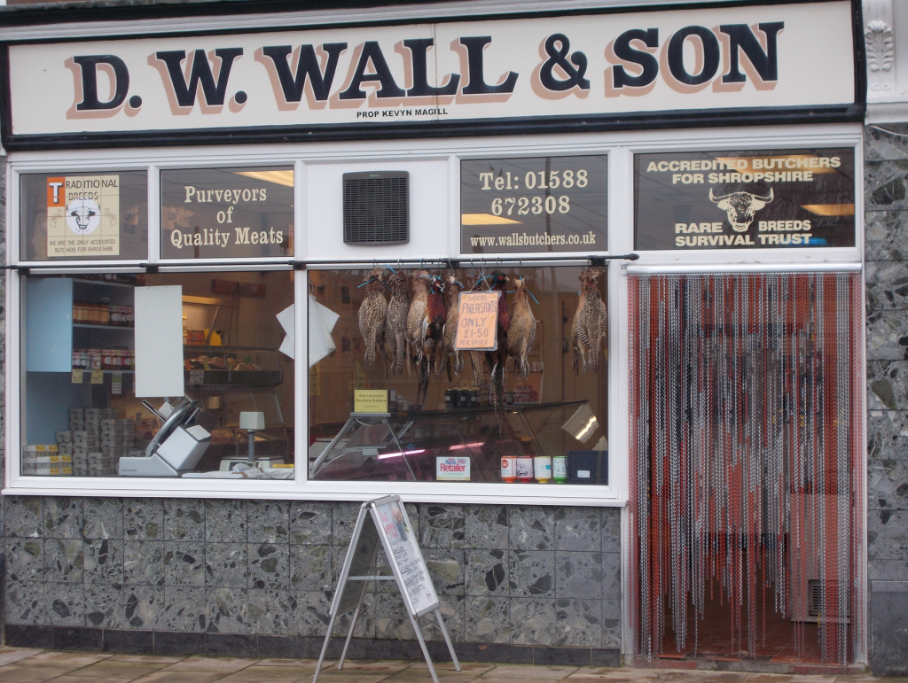 D W Wall & Son Butchers