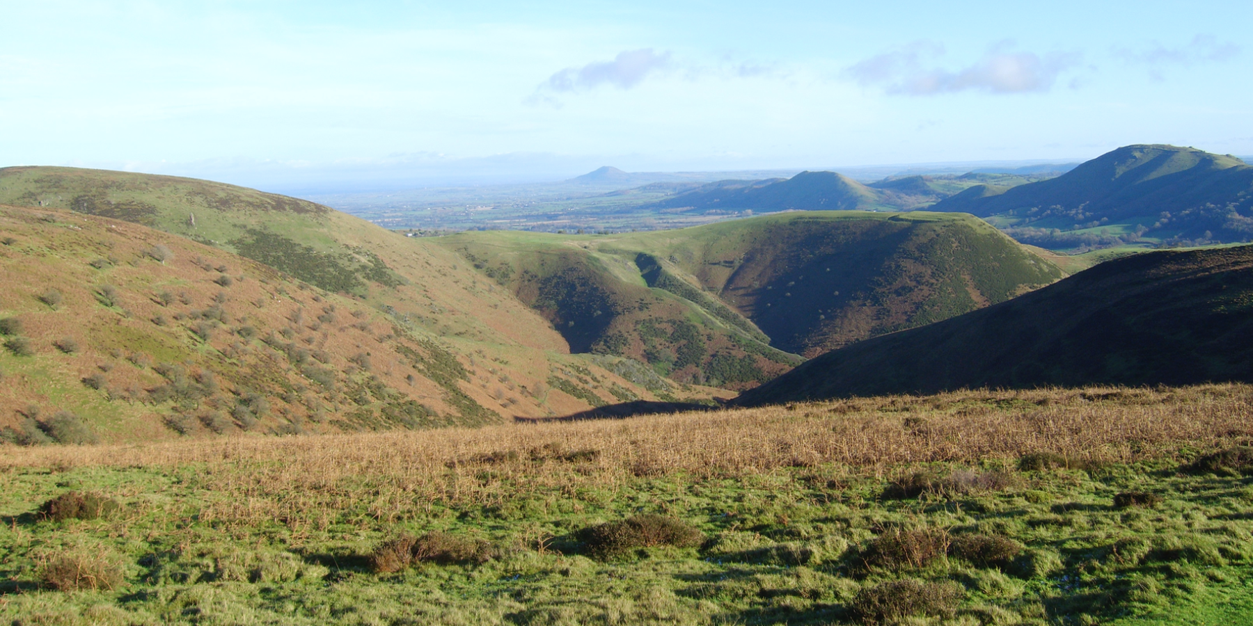 Bodbury Hill From The Burway on Long Mynd