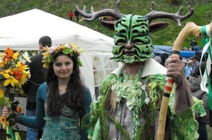 Clun Green Man and May Queen