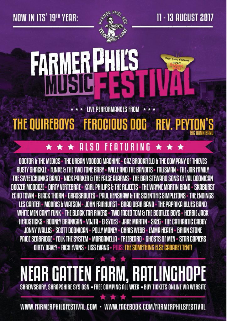 Farmer Phils Festival Flyer