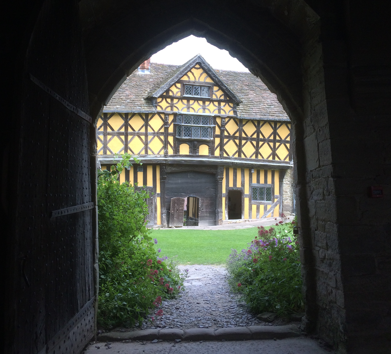 The Gatehouse at Stokesay Castle