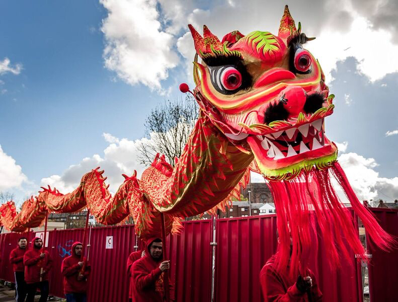 Hung Gar Chinese Dragon Dancers