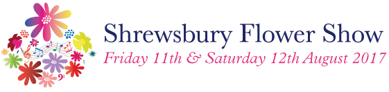 Shrewsbury Flower Show 2017 Logo