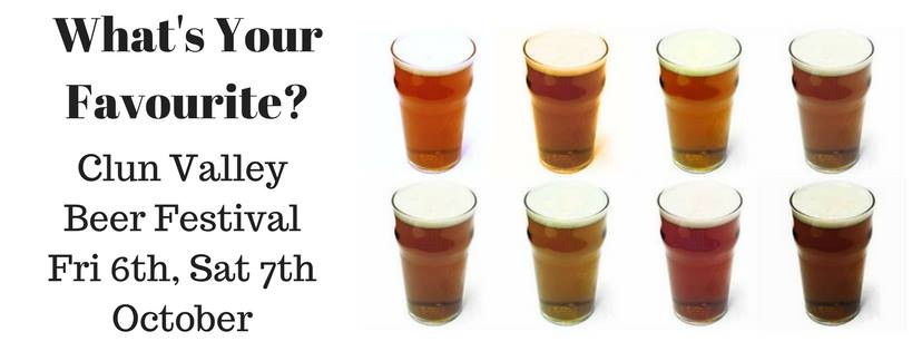 Clun Valley Beer Festival 2017