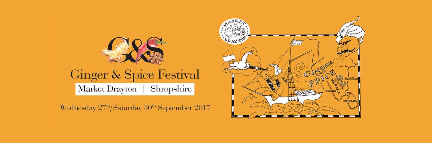 Ginger & Spice Festival Banner