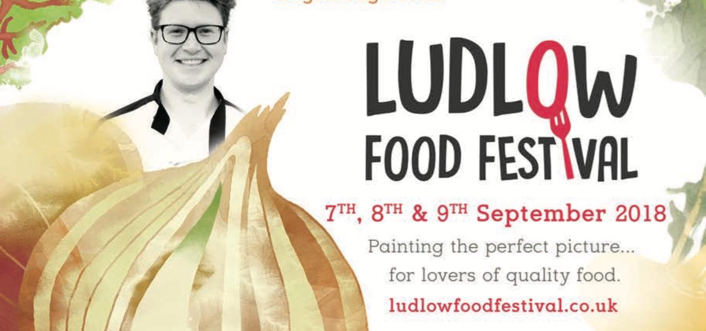 Ludlow Food Festival 2018