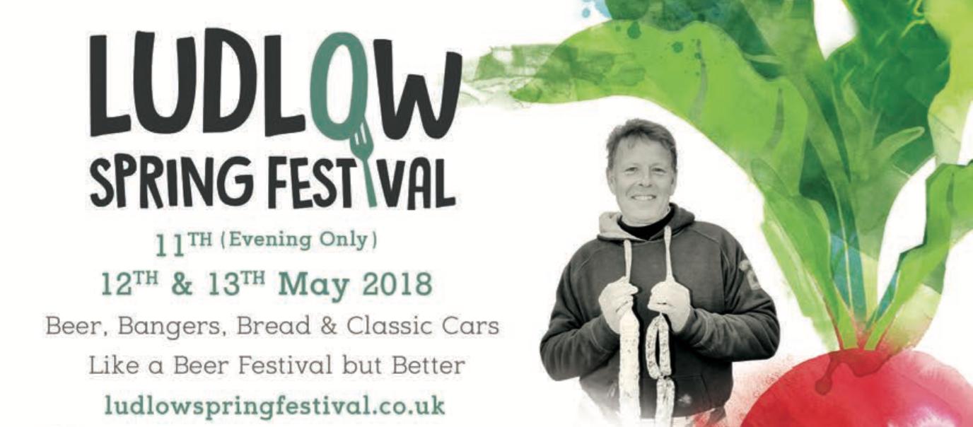 Ludlow Spring Festival 2018