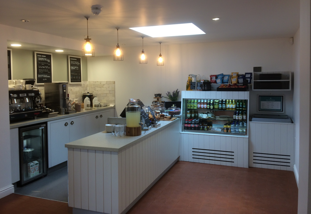 Serving Counter Stokesay Tea Rooms