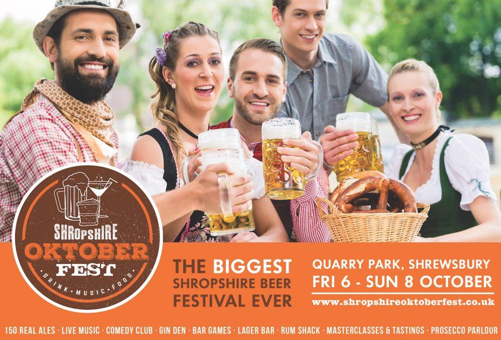 Shropshire Oktoberfest 2017 Poster