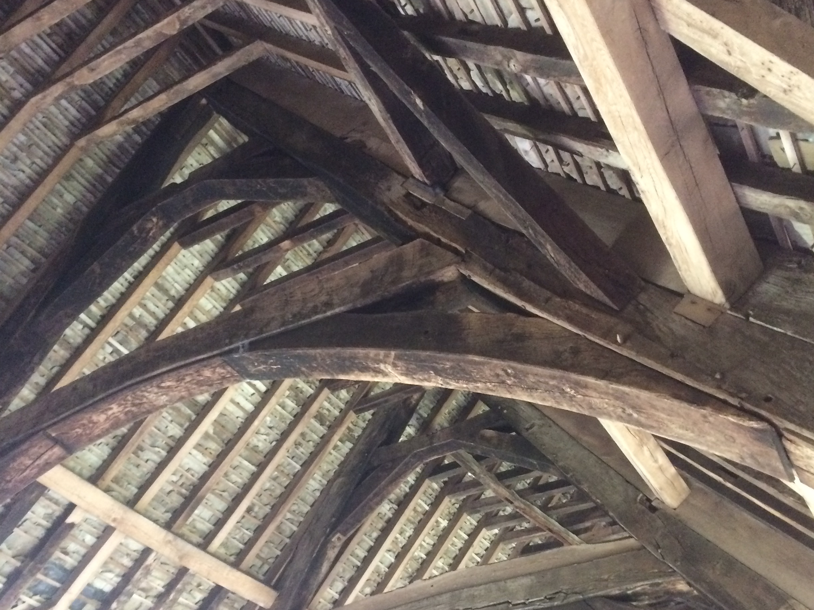 Stokesay Castle Roof