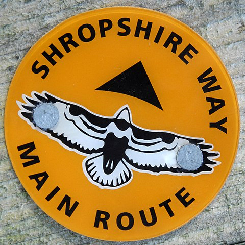 Shropshire Way Main Route Sign