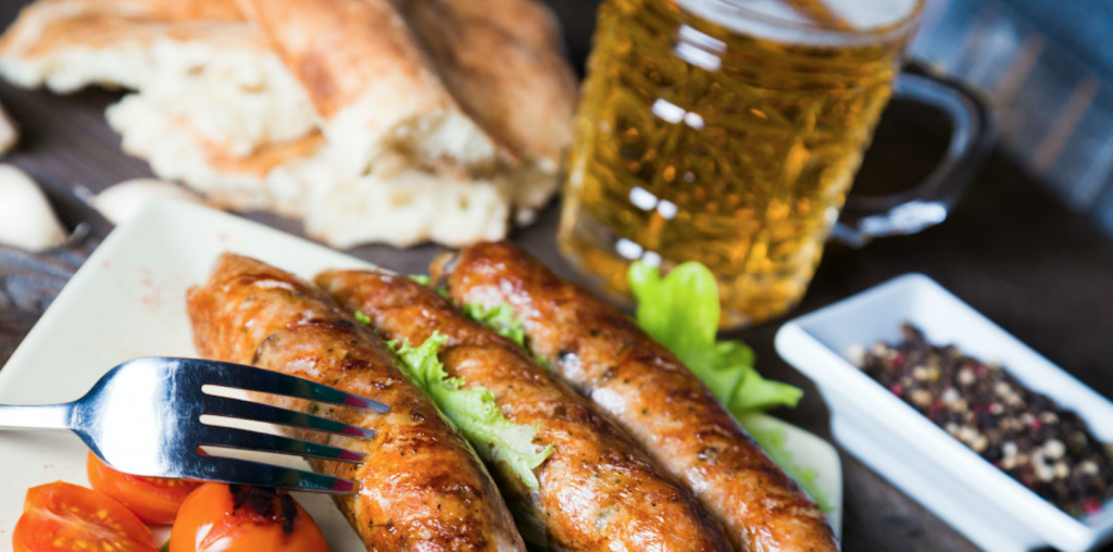 Cider and Sausages