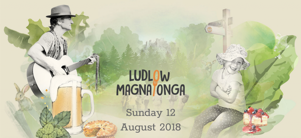 The 2018 Ludlow Magnalonga Sunday 12th August 2018