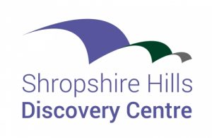 The logo of the Shropshire Hills Discovery Centre.