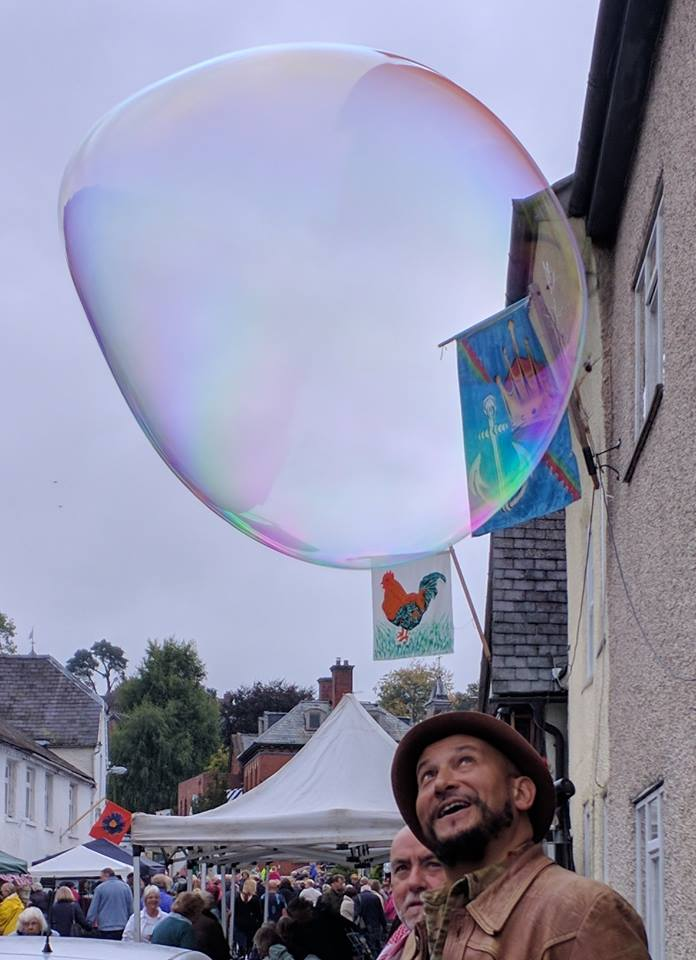 Fuzz Townshend at Bishop's Castle Michaelmas Fair