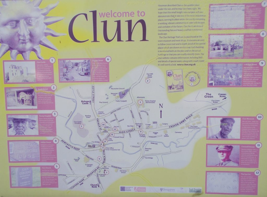 Clun Information Board
