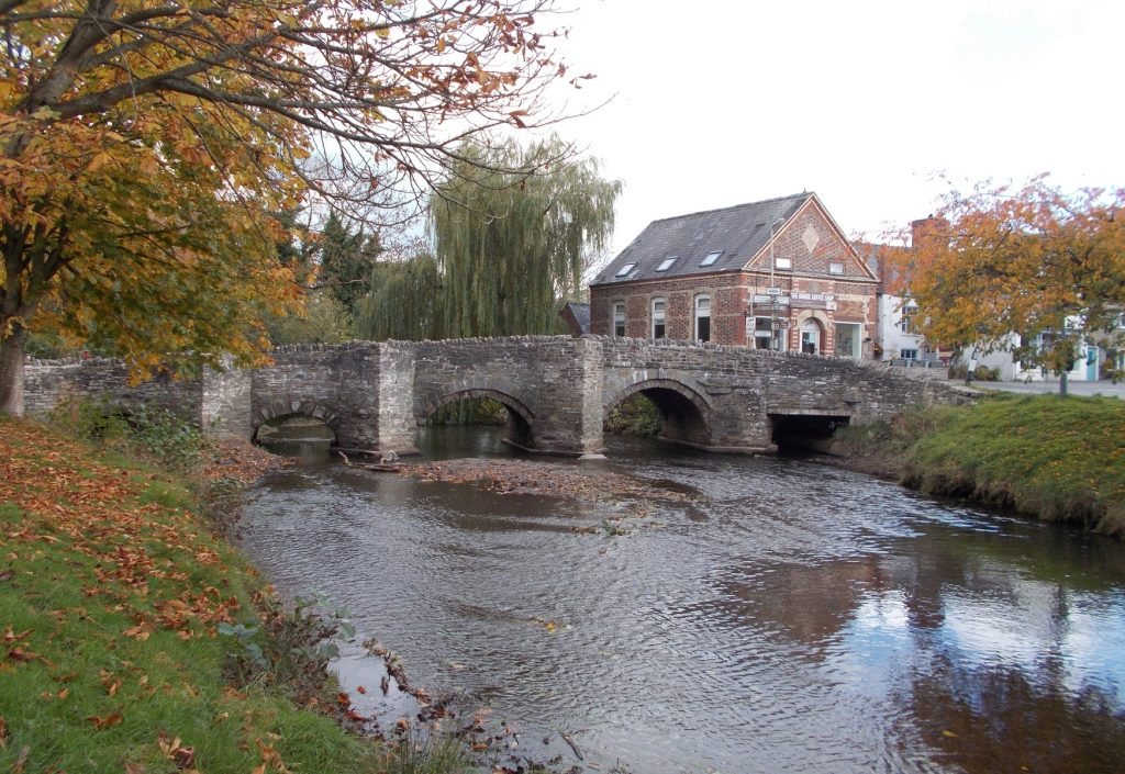 Clun Packhorse Bridge