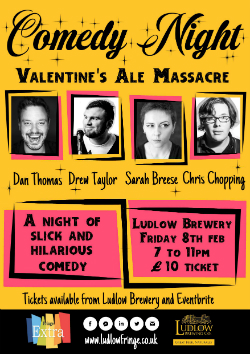 Valentines Ale Massacre Comedy Night