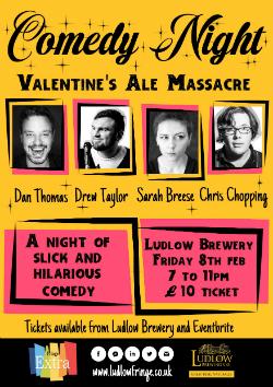 Valentines Ale Massacre Comedy Night
