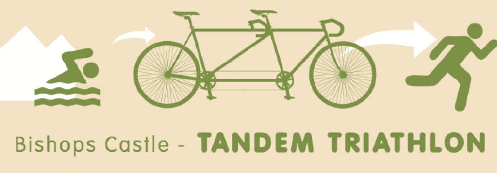 Bishops Castle Tandem Triathlon Logo