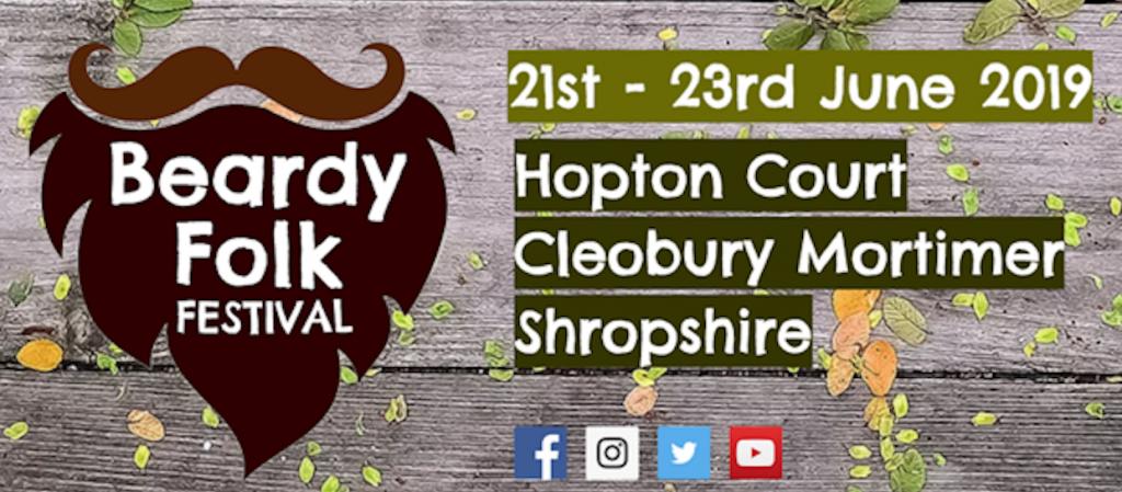 Beardy Folk Festival 2019 Logo