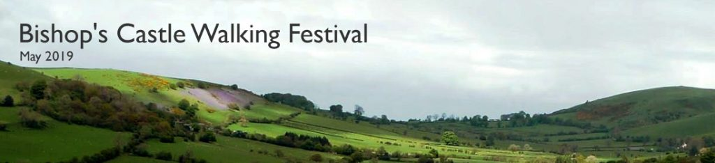 The Bishop's Castle Walking Festival Logo