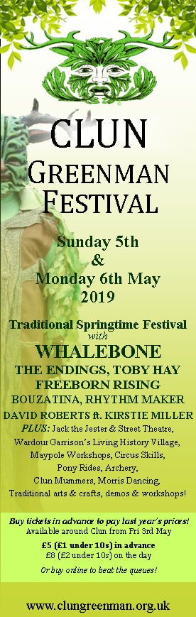 Poster of Clun Green Man Festival 2019