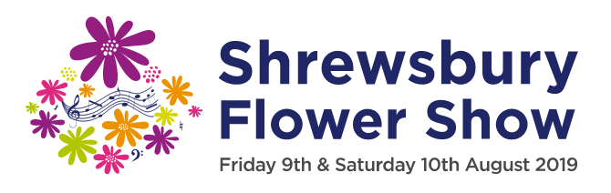 Shrewsbury Flower Show 2019 Logo
