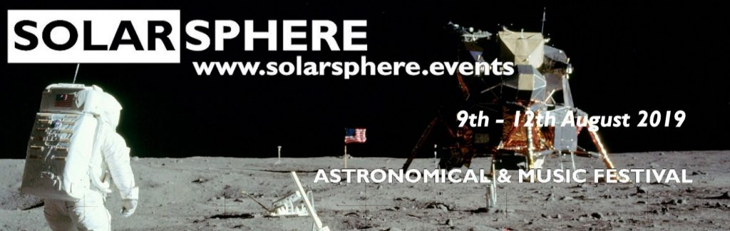 The Solarsphere 2019 event logo